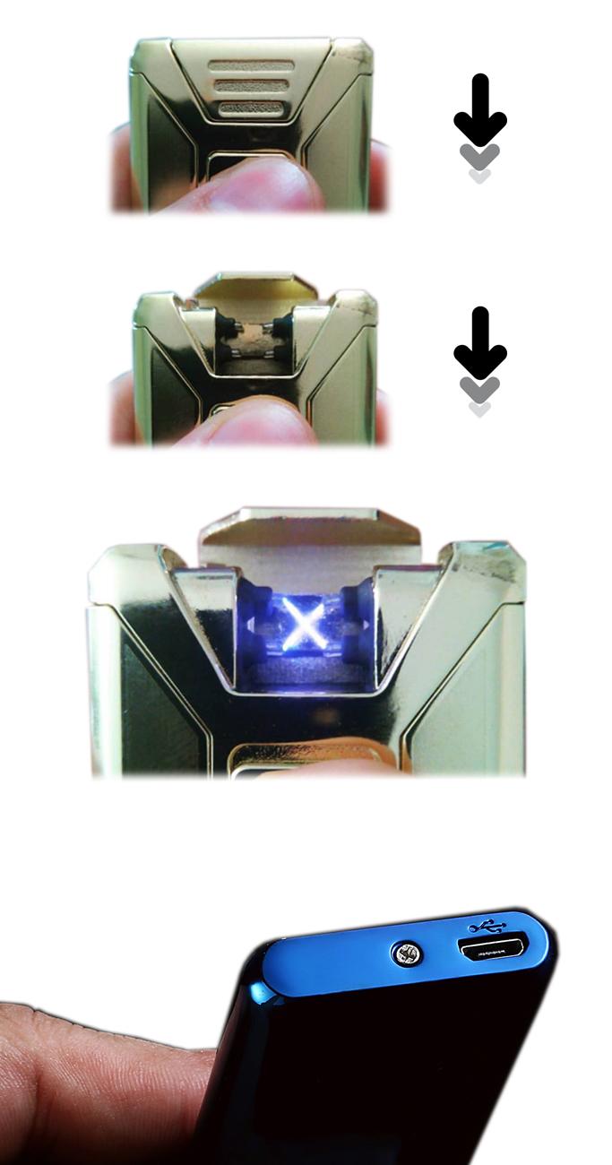 Guide-d-utilisation-PureXtrem-briquet-taser-double-arc-electrique-Pureinnov