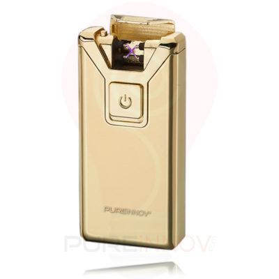 PureXtrem Gold Briquet Double Arc Electrique Pureinnov
