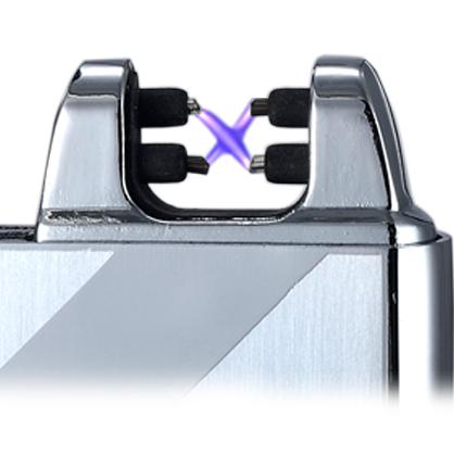 Briquets double arc électrique